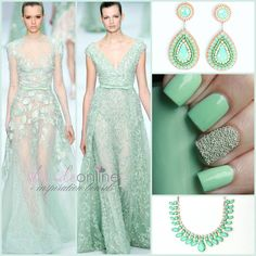 Mint green theme