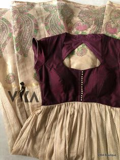 Fancy Blouse Designs, Designs For Dresses, Saree Blouse Designs, Designer Anarkali Dresses, Salwar Dress, Salwar Pants, Anarkali Suits, Long Gown Dress, Long Frock