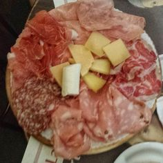Salami and cheese at a fabulous salumeria. HELLO! - Instagram by eatlikeagirl