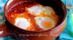 Uova in purgatorio ova 'mpriatorio ricetta salvacena il mio saper fare