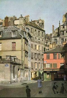 Le passage de la Petite-Boucherie vers 1955 (Paris 6ème)