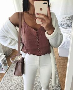 Spring Outfits ideas for summer fashion 2019 Plaid Fashion, Fashion Outfits, Womens Fashion, Mode Outfits, Trendy Outfits, Spring Outfits, Winter Outfits, Outfit Des Tages, Cute Outfits For School