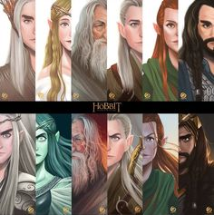 There are two sides to every character. I think it's safe to say, however, that Galadriel's two sides are the most different from each other.