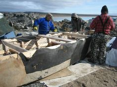 Umiaq Skin Boat is a beautiful and poetic 30-minute film about a group of Inuit elders in Inukjuak, Quebec who decide one summer to build th...