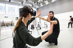 Created by Mária Júdová and Andrej Boleslavský, 'DUST' explores new ways of interaction and experience of contemporary dance through the use of immersive virtual reality experience and online media.