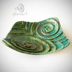 misa oczy sowy Dekoracja Wnętrz Ceramika GLIMART