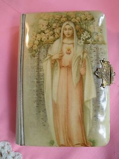 Antique 1918 Polish Language Celluloid Our Lady Catholic Prayer Book Catholic Prayer Book, Prayer Books, Folk Religion, Polish Language, Little Prayer, Bible Prayers, Catholic School, Mother Mary, First Communion