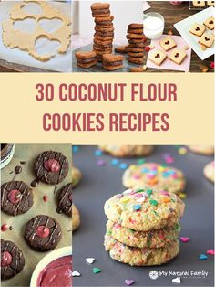 The 30 Best Coconut Flour Cookies Recipes.......Gluten free butter sugar cookies....great for cut-out cookies