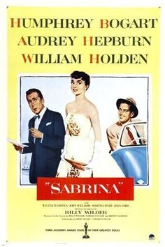 SABRINA movie poster 1954 HEPBURN & BOGART romantic comedy 24X36 OSCAR award Brand New. 24x36 inches. Will ship in a tube. - Multiple item purchases are combined the next day and get a discount for do