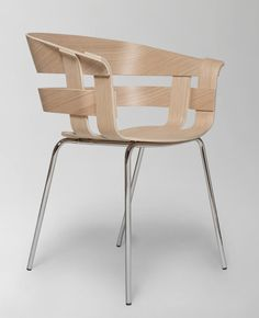 Wick chair | Designed by Karl Malmvall & Jesper Ståhl | Design House Stockholm
