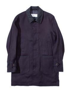 OAMC Indigo Trench Coat