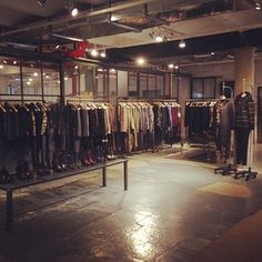 Fall 2012 collection looking tidy in our NYC showroom. via rag & bone, guest pinner for Land Rover USA