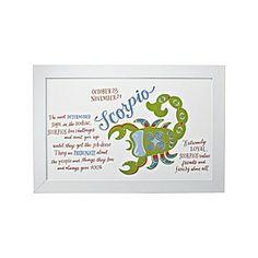 For Lexi, my little Scorpio Scorpio Zodiac Artwork | Serena & Lily