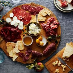 Who needs animal crackers when you've got cured meats and aged cheeses?