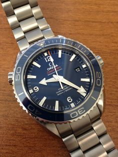 Titanium. Omega. Seamaster.    Enough said.
