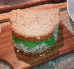 Um sanduíche por dia: pasta de sardinha