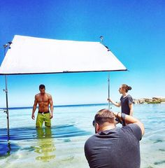 Cover Shooting today with the one and only Lens-Magician @garrethbarclay & Creative Director @robdcilliers & MH Guys @marcelsnyman8 & @realclintmauro #cover #covers #behindthescenes #fitness #summer #capetown