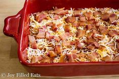 This BBQ Bacon Cheddar Meatloaf comes together in about 5 minutes. It has so much flavor you won't be able to resist having seconds. Low Carb, Grain Free, THM S