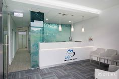 Millwater Dental   Optima Healthcare Group #receptiondesks #dentalpractice #dentalfitouts #healthcarefitouts