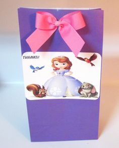 12 Sofia First & Friends Princess Favor by KhloesKustomKreation, $13.50