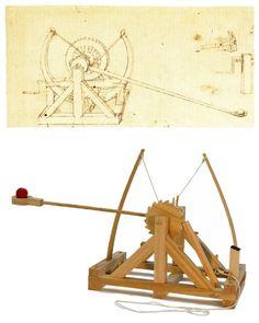 Catapult - The 9 Inventions of the Leonardo Da Vinci