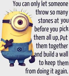 New Funny Minions gallery PM, Wednesday September 2015 PDT) - 10 pics - Minion Quotes Great Quotes, Me Quotes, Funny Quotes, Inspirational Quotes, Motivational, Citation Minion, Minions Love, Funny Minion, Minion Humor