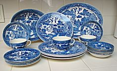 Japan Blue Willow Dishes