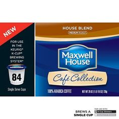 Maxwell House Single Serves 84 Cups ** Read more reviews of the product by visiting the affiliate link Amazon.com on the image.