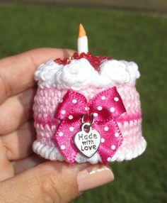 Amigurumi birthday cake. (Inspiration).