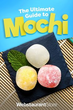 Sushi Recipes, Dessert Recipes, What Is Mochi, Ice Cream Facts, Asian Desserts, Japanese Desserts, Sakura Mochi, Mochi Cake, Kitchens