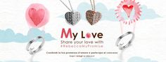 Rebecca celebrates#loveand gives you a free#customized#charm! Join our contest#RebeccaMyPromise: share a picture of you and your beloved one, write a love caption up to a max of 50 characters. The best 3 pictures will get a free My WorLd Alphabet charm customized with their own love caption.