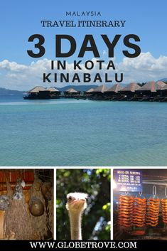 Kota Kinabalu has so much to do and three days in the city seems way to short. Here are my suggestions for a three day itinerary in Kota Kinabalu 3 Days In Kota Kinabalu Phuket, Malaysia Travel Guide, Malaysia Trip, Borneo Travel, Bali, Rm 1, Backpacking Asia, Kota Kinabalu, Travel Guides