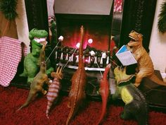 S'mores & Stories with Dinos in Dinovember dinosaur Fun and Game for Kids! Christmas Love, Ugly Christmas Sweater, Christmas Holidays, Christmas Wreaths, Christmas Crafts, Christmas Decorations, Xmas, The Good Dinosaur, Diy Arts And Crafts