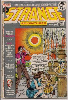 STRANGE ADVENTURES #233, Adam Strange, Atomic Knights,Mort Drucker, Murphy Anderson, Sid Greene, Gil Kane,Illustrated Sci Fi Space Anthology
