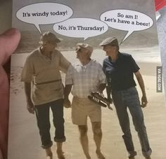 A card that is actually funny