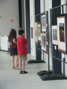 Some visitors of our exhibition!