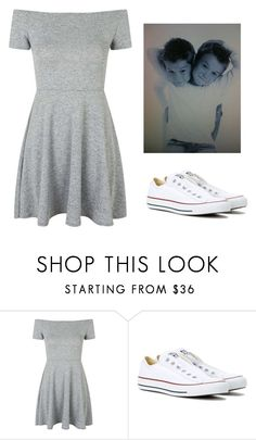 """Untitled #258"" by idapolyvore on Polyvore featuring Topshop and Converse"