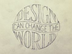 Design Can Change The World by Sean McCabe
