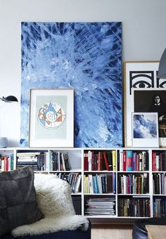 So you have a piece of art that you're really excited about, and you want to display it in a way that will make it stand out. Of course, you could just frame it and hang it on the wall—or you could try one of these unique, unexpected ways to display your art.