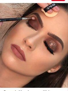 Estee Lauder Re-Nutriv Ultimate Lift Age-Correcting Eye Creme, Ounce - Cute Makeup Guide Unique Makeup, Cute Makeup, Glam Makeup, Gorgeous Makeup, Makeup Inspo, Makeup Ideas, Bridal Makeup, Beauty Makeup, Party Makeup Looks