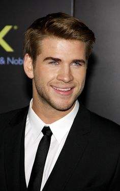 Liam Hemsworth- He's now officially taken and now officially broken the hearts of girls everywhere... Including me!