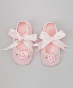 Another great find on #zulily! Pink Petal Bow Mary Jane by Truffles Ruffles #zulilyfinds