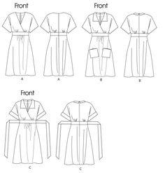 Butterick 5640 dresses