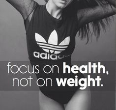 Health is not simply the absence of disease... And skinny is not necessarily healthy either... Health is a holistic endeavor!