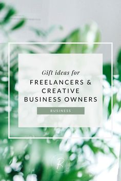 In this post I share suggestions for intentional gifts for your freelancing friends | #giftgiving #freelancegifts #freelancing #gifts