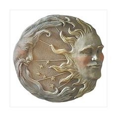 celtic home decor | Celestial Wall Plaque $21.00US Astral adornment for home or garden ...