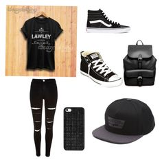 """Untitled #2"" by shankayedwards on Polyvore featuring River Island, Vans, Converse, ASOS and BaubleBar"
