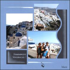 page multiple 6/6 Santorini, Rio, Diy And Crafts, Polaroid Film, France, Journal, Viajes, London, Pictures