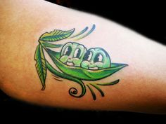 Gallery For > Two Peas In A Pod Tattoo