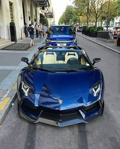 Blue Aventador DMC ⚫ #ztopcars Follow @dollars for online income